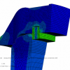 Finite Element Analysis on a Fulg-o-Lock Closure